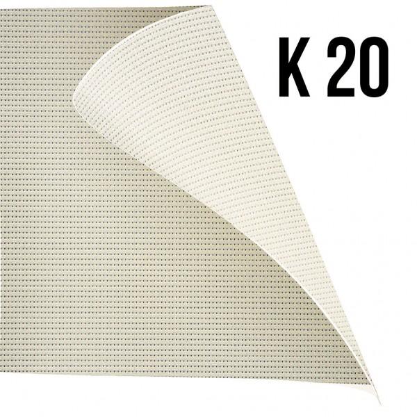 Rulou textil Office K20