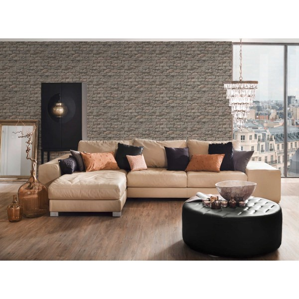 Natural scenery wallpaper 6 model Rustic, Washable, Paper, code 95834-2