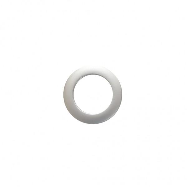 Matte-Chrome eyelets, set of 21
