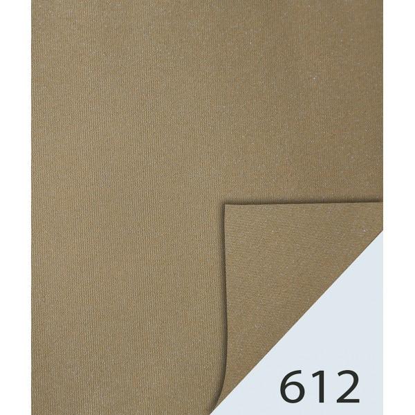 Rulou textil Dim-Out Metalic, prindere Clemfix, cod 612