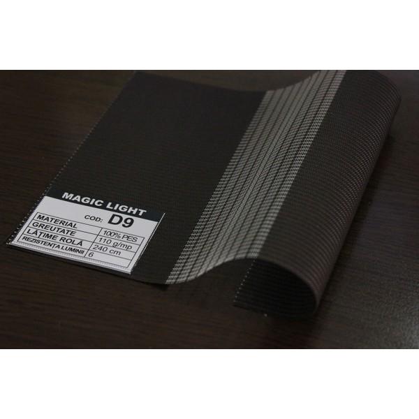 Duorulou LAR 03, dimensiune panza 41.5x160 cm, dimensiune finala kit 45X160 cm, prindere CLEMFIX