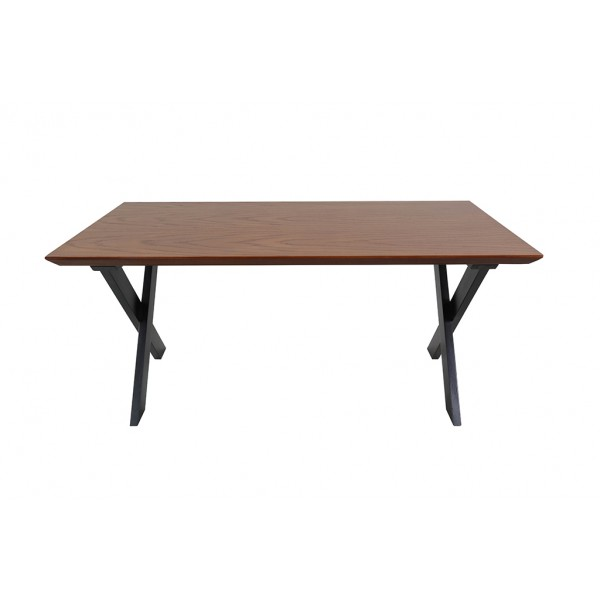 Mobifine Plus coffee table, 45x54x101.5 cm, legs made of sycamore wood, countertop with oak veneer,  color-black and white