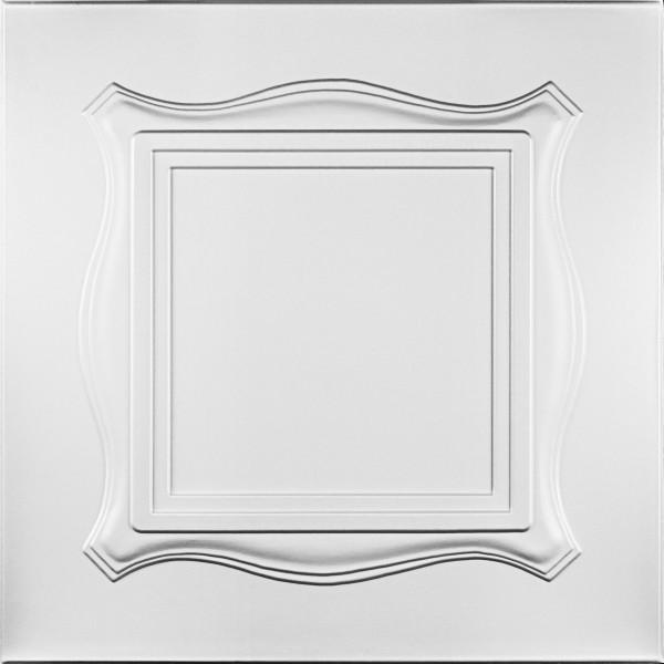Tavan decorativ C1004 alb, suprafata acoperita 2 mp