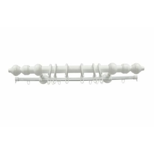 Metal gallery, white color, COMPLETE KIT