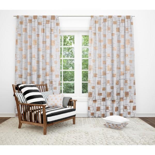 LIving drape 10772-27, workmanship included